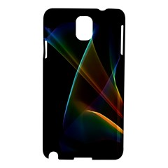 Abstract Rainbow Lily, Colorful Mystical Flower  Samsung Galaxy Note 3 N9005 Hardshell Case
