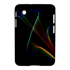 Abstract Rainbow Lily, Colorful Mystical Flower  Samsung Galaxy Tab 2 (7 ) P3100 Hardshell Case