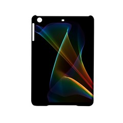 Abstract Rainbow Lily, Colorful Mystical Flower  Apple iPad Mini 2 Hardshell Case