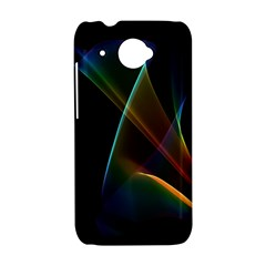Abstract Rainbow Lily, Colorful Mystical Flower  HTC Desire 601 Hardshell Case