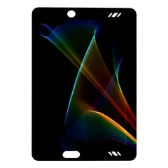 Abstract Rainbow Lily, Colorful Mystical Flower  Kindle Fire Hd 7  (2nd Gen) Hardshell Case