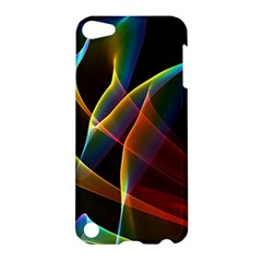 Peacock Symphony, Abstract Rainbow Music Apple Ipod Touch 5 Hardshell Case