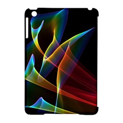 Peacock Symphony, Abstract Rainbow Music Apple iPad Mini Hardshell Case (Compatible with Smart Cover)