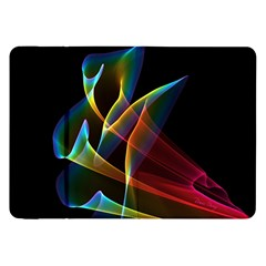 Peacock Symphony, Abstract Rainbow Music Samsung Galaxy Tab 8.9  P7300 Flip Case