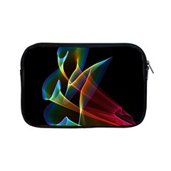 Peacock Symphony, Abstract Rainbow Music Apple iPad Mini Zippered Sleeve