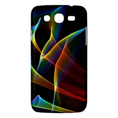 Peacock Symphony, Abstract Rainbow Music Samsung Galaxy Mega 5 8 I9152 Hardshell Case
