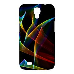 Peacock Symphony, Abstract Rainbow Music Samsung Galaxy Mega 6.3  I9200 Hardshell Case