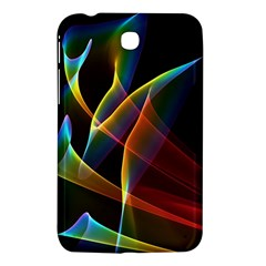 Peacock Symphony, Abstract Rainbow Music Samsung Galaxy Tab 3 (7 ) P3200 Hardshell Case