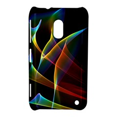 Peacock Symphony, Abstract Rainbow Music Nokia Lumia 620 Hardshell Case