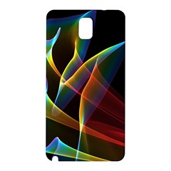 Peacock Symphony, Abstract Rainbow Music Samsung Galaxy Note 3 N9005 Hardshell Back Case