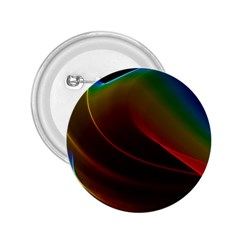 Liquid Rainbow, Abstract Wave Of Cosmic Energy  2.25  Button