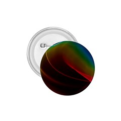 Liquid Rainbow, Abstract Wave Of Cosmic Energy  1.75  Button