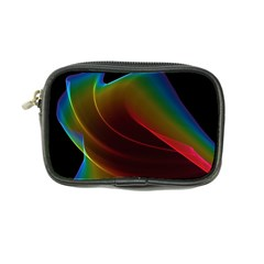 Liquid Rainbow, Abstract Wave Of Cosmic Energy  Coin Purse