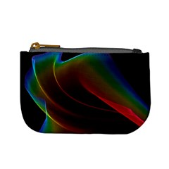 Liquid Rainbow, Abstract Wave Of Cosmic Energy  Coin Change Purse