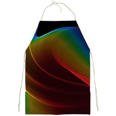 Liquid Rainbow, Abstract Wave Of Cosmic Energy  Apron
