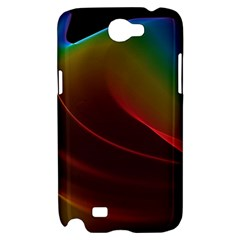 Liquid Rainbow, Abstract Wave Of Cosmic Energy  Samsung Galaxy Note 2 Hardshell Case