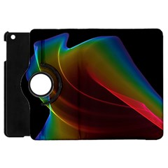 Liquid Rainbow, Abstract Wave Of Cosmic Energy  Apple iPad Mini Flip 360 Case