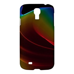 Liquid Rainbow, Abstract Wave Of Cosmic Energy  Samsung Galaxy S4 I9500/I9505 Hardshell Case