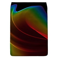 Liquid Rainbow, Abstract Wave Of Cosmic Energy  Removable Flap Cover (Large)