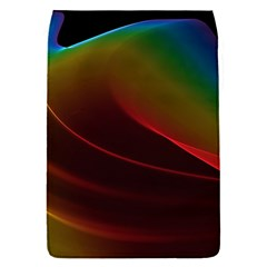 Liquid Rainbow, Abstract Wave Of Cosmic Energy  Removable Flap Cover (Small)