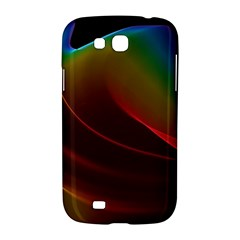 Liquid Rainbow, Abstract Wave Of Cosmic Energy  Samsung Galaxy Grand GT-I9128 Hardshell Case