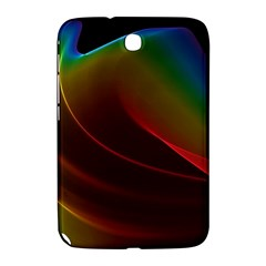 Liquid Rainbow, Abstract Wave Of Cosmic Energy  Samsung Galaxy Note 8.0 N5100 Hardshell Case