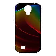 Liquid Rainbow, Abstract Wave Of Cosmic Energy  Samsung Galaxy S4 Classic Hardshell Case (PC+Silicone)