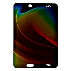 Liquid Rainbow, Abstract Wave Of Cosmic Energy  Kindle Fire HD 7  (2nd Gen) Hardshell Case
