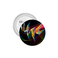 Northern Lights, Abstract Rainbow Aurora 1.75  Button