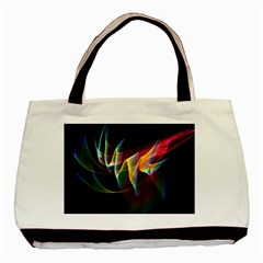 Northern Lights, Abstract Rainbow Aurora Classic Tote Bag