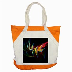 Northern Lights, Abstract Rainbow Aurora Accent Tote Bag