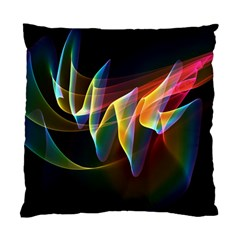 Northern Lights, Abstract Rainbow Aurora Cushion Case (single Sided)