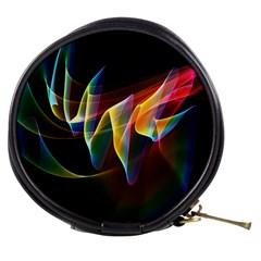 Northern Lights, Abstract Rainbow Aurora Mini Makeup Case
