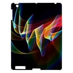 Northern Lights, Abstract Rainbow Aurora Apple iPad 3/4 Hardshell Case