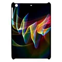 Northern Lights, Abstract Rainbow Aurora Apple iPad Mini Hardshell Case