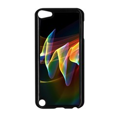 Northern Lights, Abstract Rainbow Aurora Apple iPod Touch 5 Case (Black)