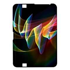 Northern Lights, Abstract Rainbow Aurora Kindle Fire HD 8.9  Hardshell Case