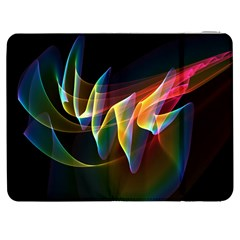 Northern Lights, Abstract Rainbow Aurora Samsung Galaxy Tab 7  P1000 Flip Case
