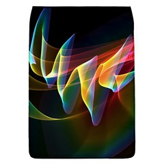 Northern Lights, Abstract Rainbow Aurora Removable Flap Cover (Large)