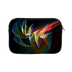 Northern Lights, Abstract Rainbow Aurora Apple iPad Mini Zippered Sleeve