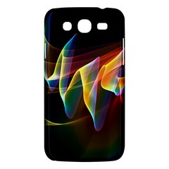 Northern Lights, Abstract Rainbow Aurora Samsung Galaxy Mega 5.8 I9152 Hardshell Case
