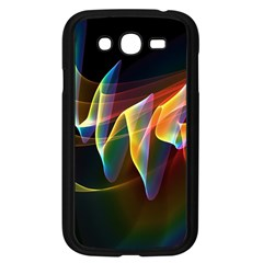 Northern Lights, Abstract Rainbow Aurora Samsung Galaxy Grand DUOS I9082 Case (Black)