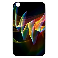 Northern Lights, Abstract Rainbow Aurora Samsung Galaxy Tab 3 (8 ) T3100 Hardshell Case