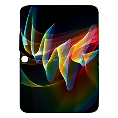 Northern Lights, Abstract Rainbow Aurora Samsung Galaxy Tab 3 (10.1 ) P5200 Hardshell Case