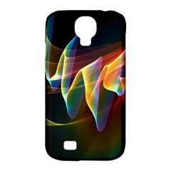 Northern Lights, Abstract Rainbow Aurora Samsung Galaxy S4 Classic Hardshell Case (PC+Silicone)