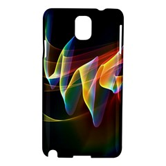 Northern Lights, Abstract Rainbow Aurora Samsung Galaxy Note 3 N9005 Hardshell Case