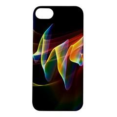 Northern Lights, Abstract Rainbow Aurora Apple Iphone 5s Hardshell Case