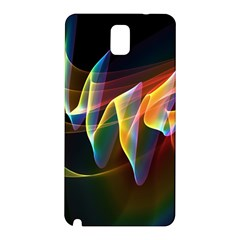 Northern Lights, Abstract Rainbow Aurora Samsung Galaxy Note 3 N9005 Hardshell Back Case