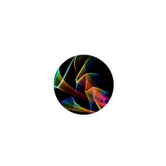 Crystal Rainbow, Abstract Winds Of Love  1  Mini Button