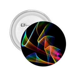 Crystal Rainbow, Abstract Winds Of Love  2 25  Button